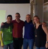 אימון חזק עם הנהלת אנבידיה ישראל