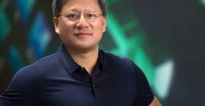 """ג'נסן הואנג, מנכ""""ל אנבידיה. צילום: יח""""צ"""