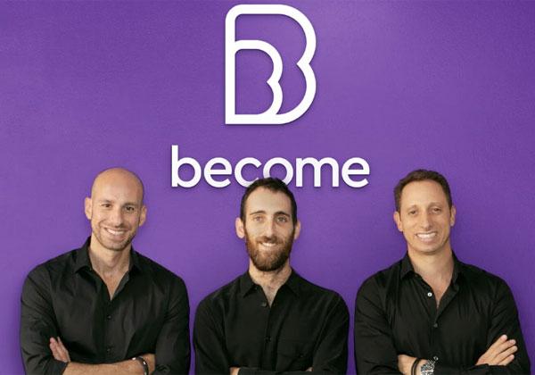 """שלושה ממייסדי ביקאם. מימין: אירי עמירב, עדן עמירב (המנכ""""ל) ואמיר לייטרסדורף. צילום: סיגל אמון"""