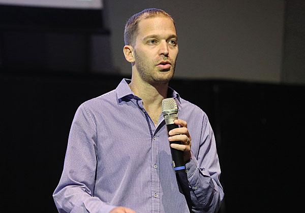 גל קול, מנהל פרויקט המפעל הטכנולוגי באלוויישן. צילום: ניב קנטור