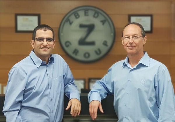 """אבי פלדמן ואייל זבידה, ממקימי קרן מוביליון. צילום: יח""""צ"""