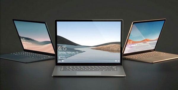 """ה-Surface Laptop 3 של מיקרוסופט. צילום: יח""""צ"""