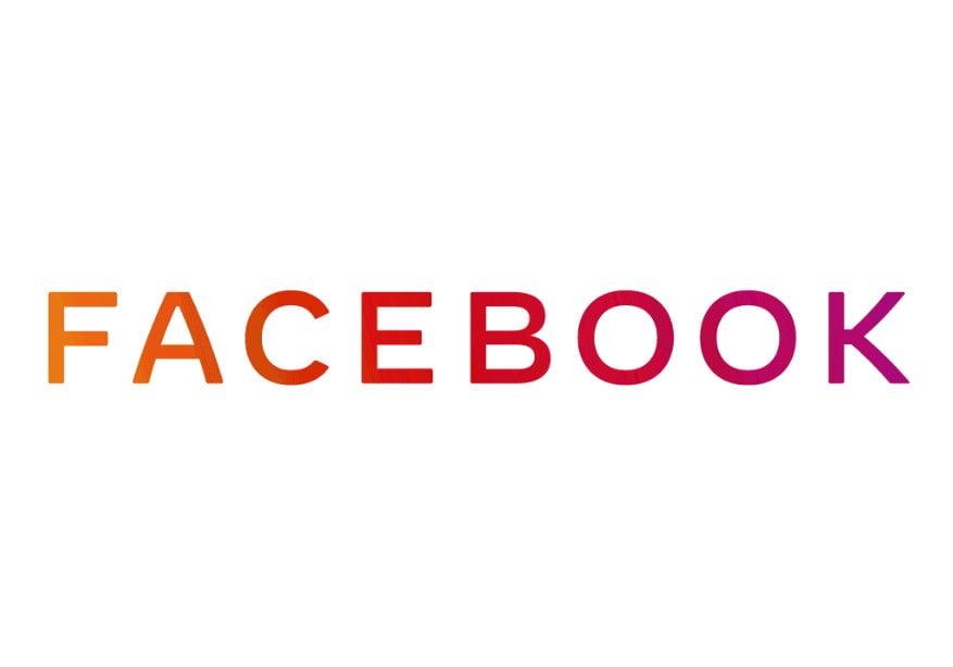 לוגו פייסבוק החדש