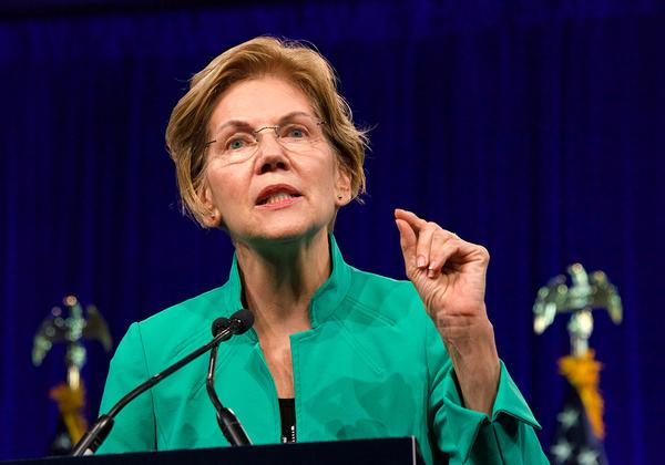 """הסנאטורית אליזבת וורן, אחת המתמודדות המובילות של הדמוקרטים לנשיאות ארה""""ב. צילום: BigStock"""