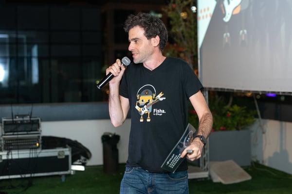 גיא פישר, מנהל ecommerce באלעד מערכות. צילום: עידן סבח