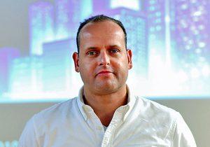 איתי אהרונוב, מנהל פתרונות בכיר במיקרוסופט ישראל. צילום: עיבל רונן