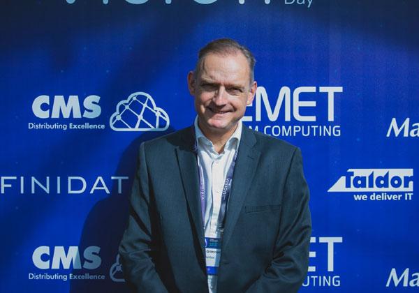 """פיטר גרימונד, סמנכ""""ל הטכנולוגיות לאזור EMEA של וריטאס. צילום: ויקטור לוי"""