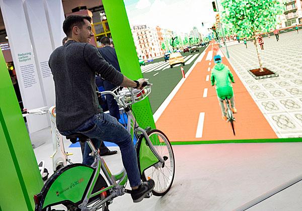 """,תחבורה חכמה - אחד התחומים הבולטים בכנס הערים החכמות בברצלונה. צילום: יח""""צ"""