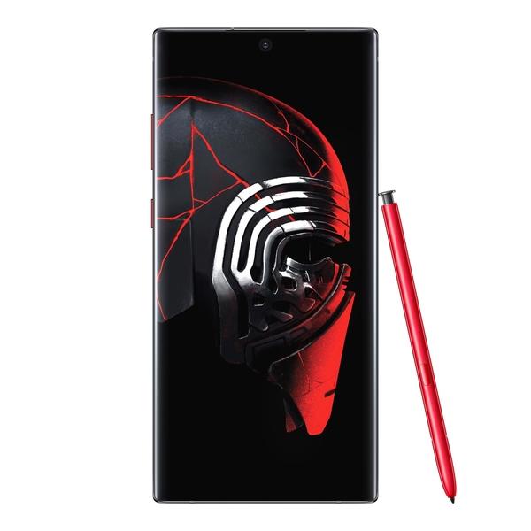 """+Galaxy Note 10 במהדורה המוקדשת למלחמת הכוכבים. צילום: יח""""צ סמסונג"""