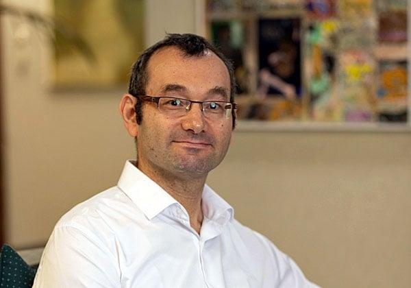יואל יעקובסן, הטכנולוג הראשי של א.מ.ת מיחשוב. צילום: אפרת שפי