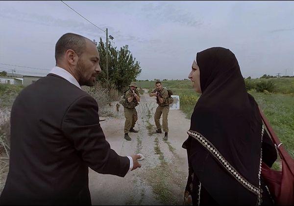 נקודת המבט של הפלסטינים ב-VR. צילום: האוניברסיטה העברית בירושלים