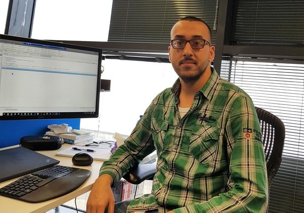 """באסל שאהין, מהנדס תוכנה, מיקרוסופט ישראל מחקר ופיתוח. צילום: יח""""צ"""