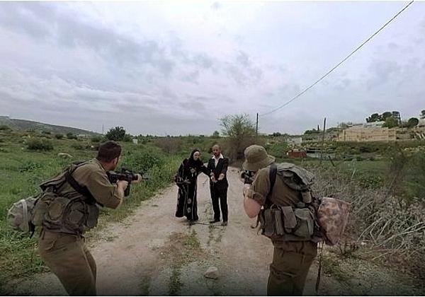 נקודת מבט של החיילים ב-VR. צילום: האוניברסיטה העברית בירושלים