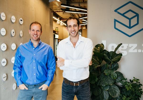מימין לשמאל: תומר לוי, ואסף יגאל, מייסדים-משותפים, Logz.io. צילום: ניקול חאן