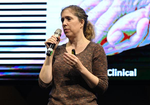 ד''ר מיכל רוזן צבי, דירקטורית עולמית למידע רפואי במעבדות המחקר של יבמ בחיפה. צילום: אלעד גוטמן