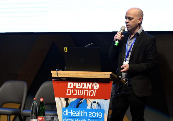 אסף פרקר, מנהל תחום טכנולוגיות באגף בריאות דיגיטלית במשרד הבריאות. צילום: אלעד גוטמן