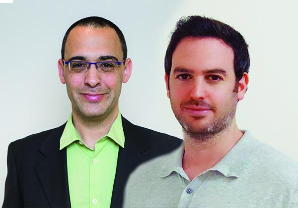 """בתמונה: ערן בראון, סמנכ""""ל טכנולוגיות לאזור EMEA באינפינידט (צילום: טליה אלק), ועידו דובובי, דירקטור בקבוצת המוצר בחברה (צילום: לקרין האזה)."""