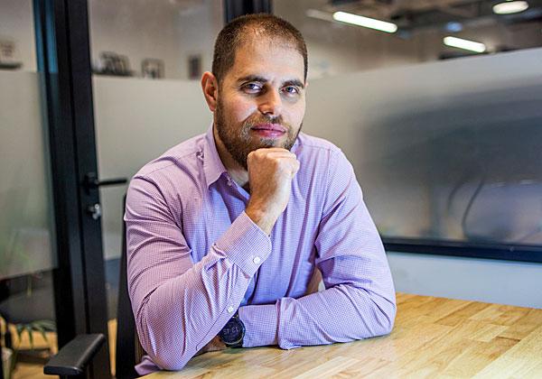 """גל ויגדור, סמנכ""""ל הפיתוח של טקטייל מוביליטי. צילום: גל לירן"""