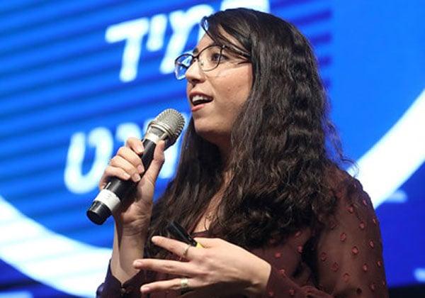 הילה ששון, מנהלת שיווק מוצר בחטיבת ה-Voice.AI של אודיוקודס. צילום: ניב קנטור