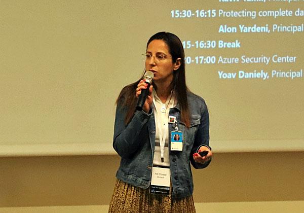 """עדי קריסטל, מנהלת תחום 365 במיקרוסופט ישראל. צילום: יח""""צ"""