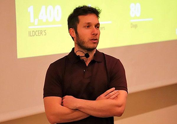 """ניב גולדנברג, מנהל מוצר אבטחת אפליקציות בענן במרכז המו''פ של מיקרוסופט בישראל. צילום: יח""""צ"""