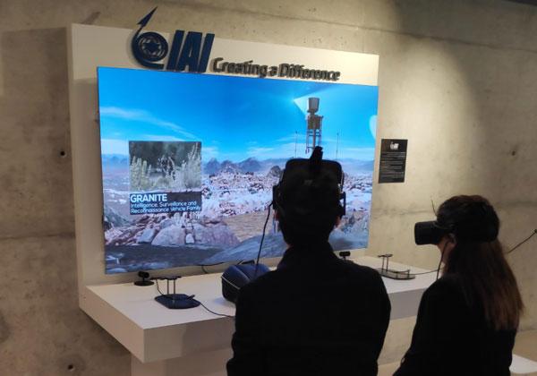 גלריית החדשנות במרכז פרס לשלום ולחדשנות. צילום: יניב הלפרין