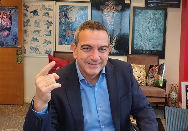 """ד""""ר רון תומר, נשיא התאחדות התעשיינים. צילום: פלי הנמר"""