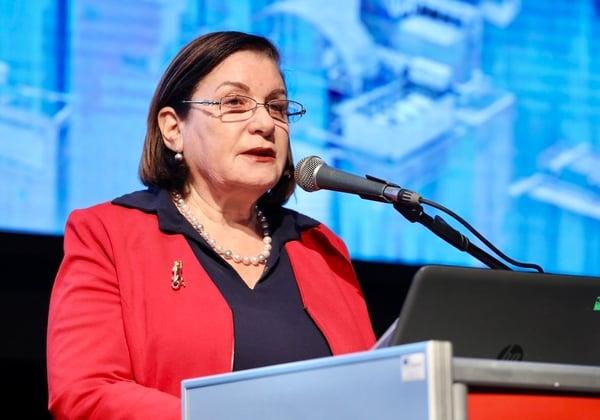השופטת בדימוס נילי ארד, יו''רית עמותת שבי''ל - שקיפות בינלאומית ישראל. צילום: ניב קנטור