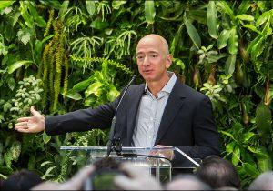 """מייסד ומנכ""""ל אמזון, ג'ף בזוס. צילום: מתוך ויקיפדיה"""