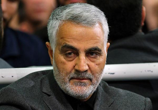 קאסם סולימאני. צילום: מתוך ויקיפדיה