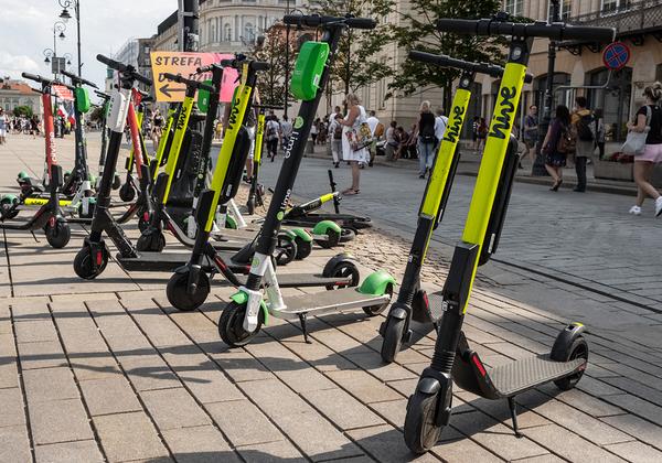"""כמו בישראל גם בארה""""ב - קורקינטים חשמליים מציפים את רחובות הערים. צילום: BigStock"""