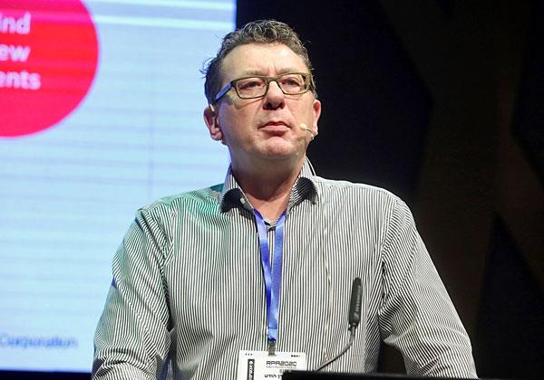 כריס דן הודט, מנהל מכירות פתרונות אוטומציה דיגיטלית ביבמ אירופה. צילום: ניב קנטור