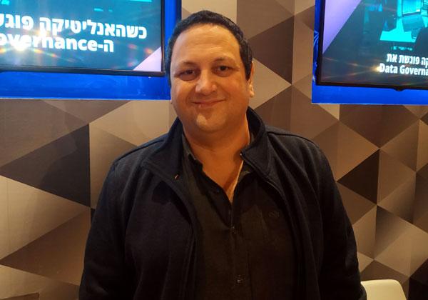 אייל זפרני, יועץ בכיר למנהל חטיבת ה-IT בתחומי הדטה והאנליטיקה בבנק ישראל. צילום: צבי קצבורג