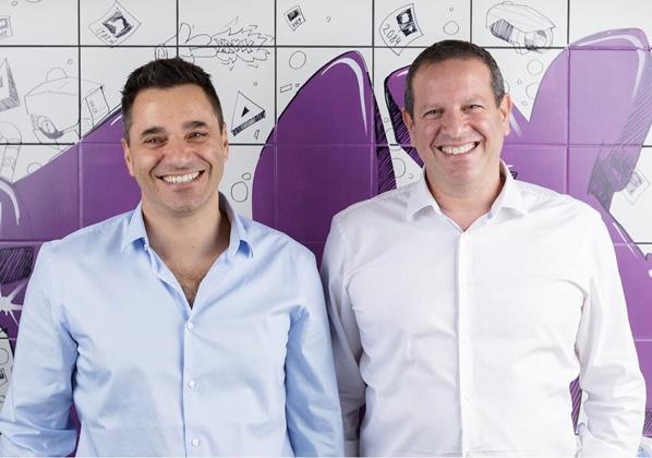 """מימין: יואל בר-אל ודרור פלדהיים, מייסדי טראקס. צילום: יח""""צ"""