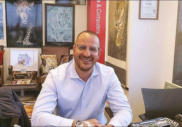 """שלומי אביב, המנכ""""ל החדש של VMware ישראל. צילום: פלי הנמר"""