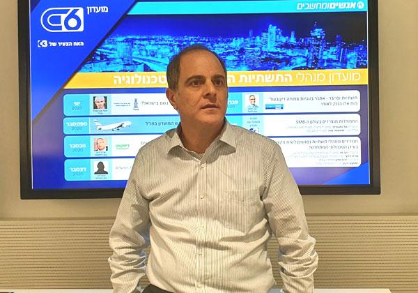 שי בסון, סמנכ''ל בכיר וראש חטיבת לאומי טכנולוגיות בבנק לאומי. צילום: פלי הנמר