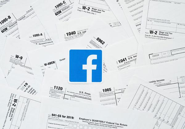 על הפרק: המסים שפייסבוק צריכה - או לא - לשלם בארצות הברית. מקור: BigStock
