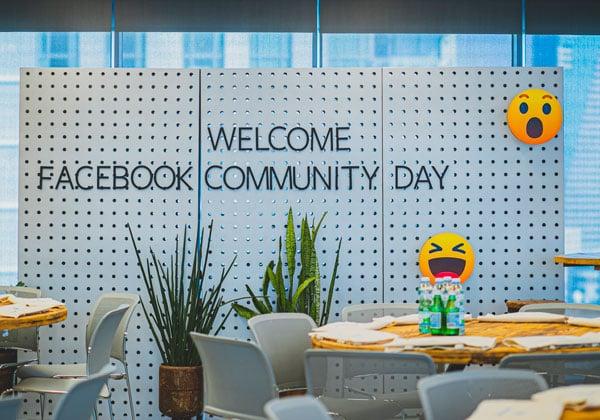 יום הקהילות השנתי של פייסבוק ישראל. צילום: ויקטור לוי