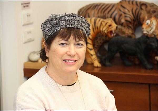 שרית לוי, ראשת תחום מידע ומחקר תחבורה ציבורית ברשות הארצית לתחבורה ציבורית. צילום: יניב פאר