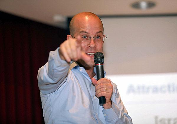 """איתי גרין, מומחה חדשנות מאינובייט ישראל ומייסד קהילת יזמי הטרוול-טק הישראלית ITTS. צילום: יח""""צ"""