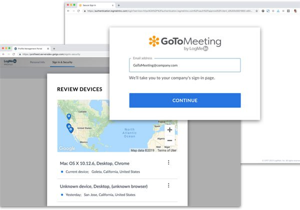 GoToMeeting. צילום מסך מאתר החברה