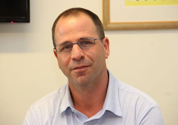 עמית יושע, האחראי על תחום הפלטפורמות והטכנולוגיה בסאפ ישראל. צילום: יניב פאר