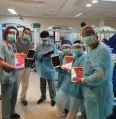 מרכז שניידר צייד צוותים רפואיים במחשבי iPad לטובת טיפול מרחוק בילדים עקב מגיפת הקורונה