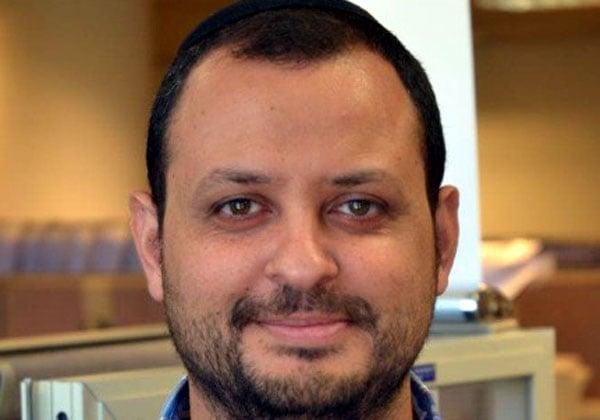 """ציון סמולר, הממונה על טכנולוגיות המידע באגף מחשוב המערכות של עיריית ירושלים. צילום: יח""""צ"""