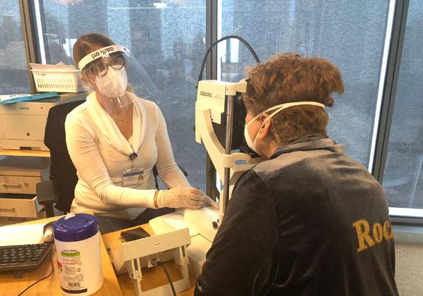 """מרפאת העיניים מאיכילוב במתחם של WeWork. צילום: יח""""צ"""