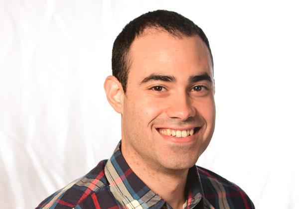 """גיא לוי, מהנדס תוכנה בפיליפס ישראל. צילום: יח""""צ"""