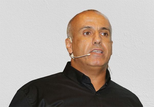 """נדב מדר, מנהל תחום מכירות אחסון ב-דל טכנולוגיות ישראל. צילום: קובי קנטור ז""""ל"""
