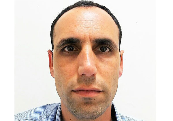 אלעד בוכמן, מנהל מערכות ה-ווב של אוניברסיטת חיפה. צילום עצמי