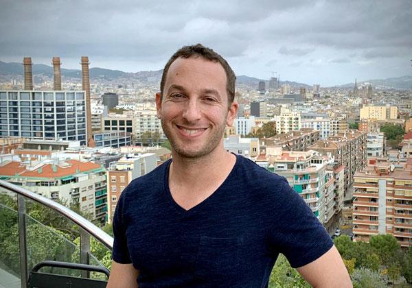 """מיכאל תדמור, ראש צוות במחלקת פיתוח ב-NSO. צילום: יח""""צ"""