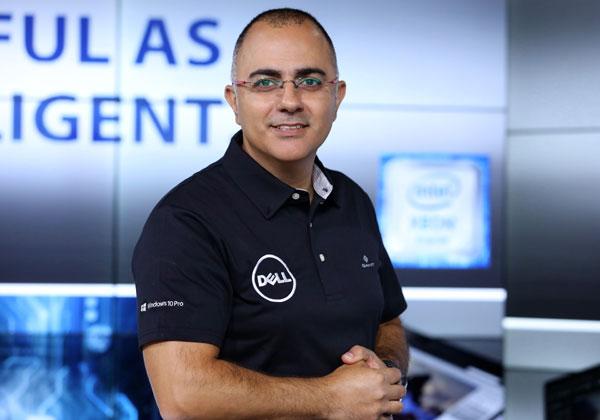אורן לוי, מנהל קטגוריית מחשוב עסקי בדל טכנולוגיות. צילום: ניב קנטור